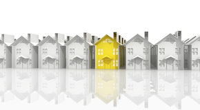 Search for suitable housing Royalty Free Stock Photography
