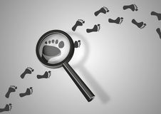 Search for traces Stock Photography