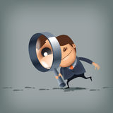 Search. Vector format royalty free illustration
