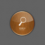 Search wood application icons Stock Images