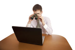 Searching. Royalty Free Stock Image