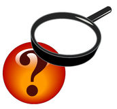Searching for answers Royalty Free Stock Images