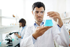 Searching for antidote Royalty Free Stock Photo