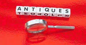 Searching for antiques Stock Photo
