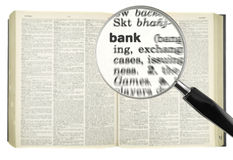 Searching for BANK Stock Image