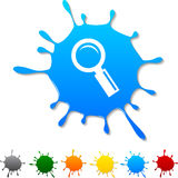 Searching  blot. Stock Photography