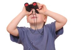 Searching boy Stock Image