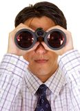 Searching for business - businessman Stock Photography