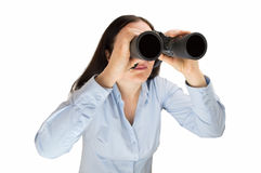 Searching for business opportunities Stock Image