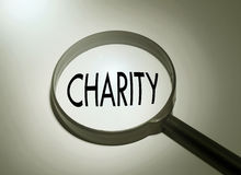 Searching charity Royalty Free Stock Images