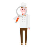 Searching chef Stock Photography