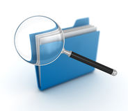 Searching file Royalty Free Stock Photos