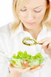 Searching in food Stock Photography