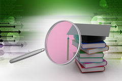 Searching higher education Stock Images