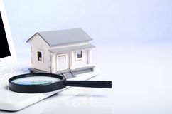 Searching for a house Stock Photo
