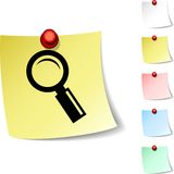 Searching  icon. Royalty Free Stock Images