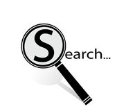 Searching icon Stock Images