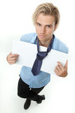 Searching for a job Stock Photos