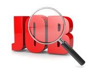 Searching Job stock illustration