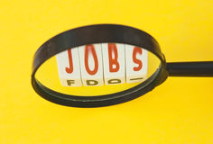 Searching for jobs Stock Image