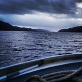 Searching the Murky Waters of Loch Ness, Scotland Royalty Free Stock Photo