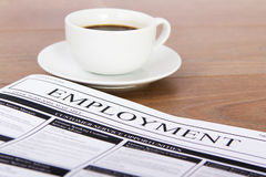 Searching for a new job or employment Stock Image