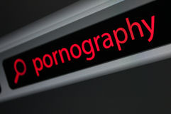 Searching Porno Royalty Free Stock Photo