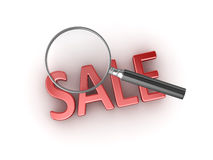 Searching sale Stock Images