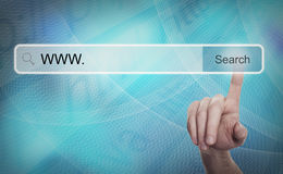 Searching System and Internet Concept Royalty Free Stock Image