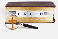 Searching Your FAITH Royalty Free Stock Photography