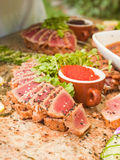 Seared Ahi Royalty Free Stock Photography