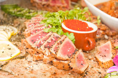 Seared Ahi Stock Image