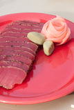 Seared ahi tuna Royalty Free Stock Image