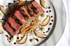 Seared beef Stock Photo