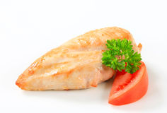Seared chicken breast Royalty Free Stock Photo