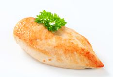 Seared chicken breast Royalty Free Stock Image