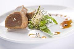 seared tonfisk Arkivfoton