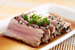 Seared Tuna Royalty Free Stock Photo