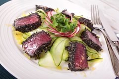 Seared tuna Stock Photo