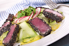 Seared tuna Royalty Free Stock Photography