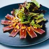 Seared tuna steak Stock Image
