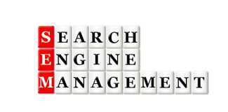 Searh Engine Management Royalty Free Stock Image