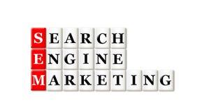 Searh silnika marketing Obrazy Royalty Free