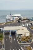 Searoad promu terminal w Queenscliff, Australia Obrazy Stock