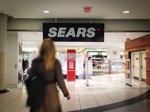 Sears en el centro de Eaton Imagen de archivo libre de regalías