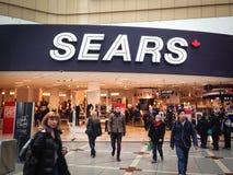 Sears en el centro de Eaton Imagen de archivo