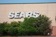 Sears outside sign Royalty Free Stock Photography