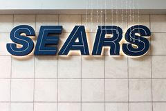 Sears Retail Store Financial Bankruptcy royalty free stock image