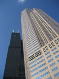 Sears and 311 South Wacker Towers Stock Photo