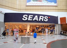 Sears Store. The main entrance of a Sears department store on May 13, 2013 in Toronto. The company was founded by Richard Warren Sears and Alvah Curtis Roebuck